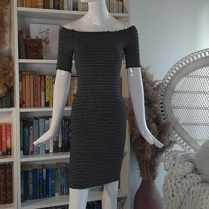 NEW Caution To The Wind tube striped dress